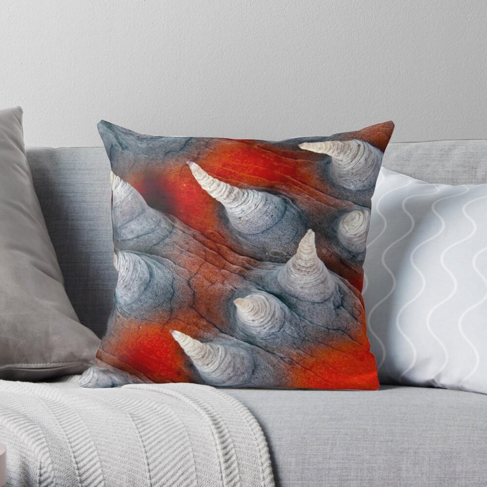 Teat? Fish? Throw Pillow