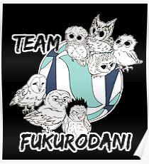 Team Fukurodani Poster