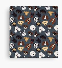 Canine Collective Canvas Print