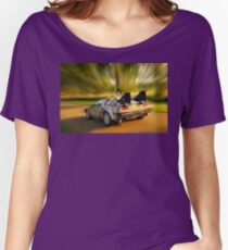 DELOREAN.... Back to the Future. Women's Relaxed Fit T-Shirt