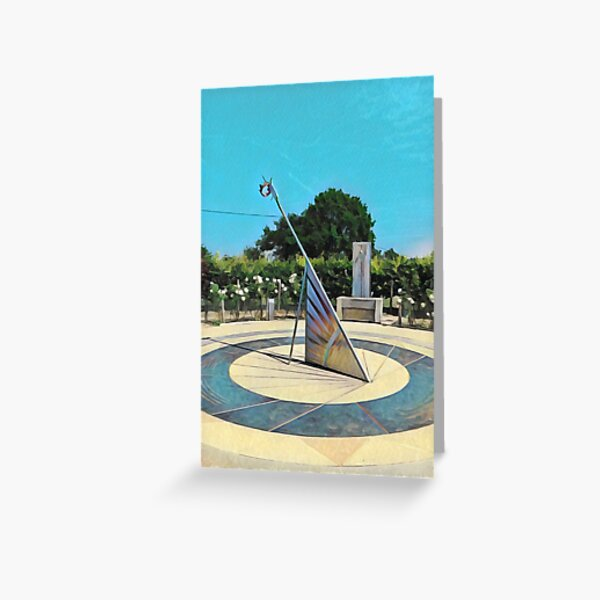 Bosworth Battlefield Sundial Greeting Card