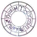 Zodiac Wheel by rembraushughs