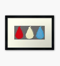 Blood, Sweat and Tears Framed Print