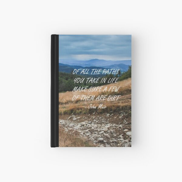 Of all the paths... 2 Hardcover Journal