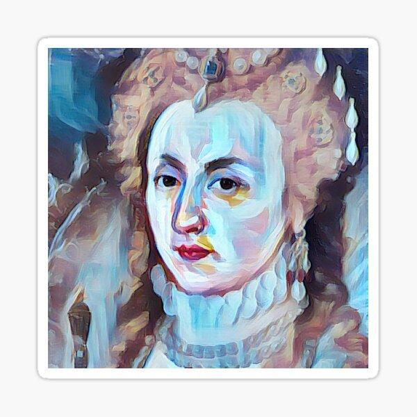 Elizabeth I Pop Art Sticker