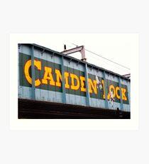 Camden Lock Art Print