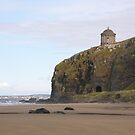 Mussenden Temple (With Railway Tunnel) Co Derry, Ireland   by mikequigley