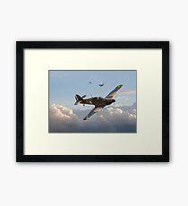 Hurricane - Fighter Sweep Framed Print