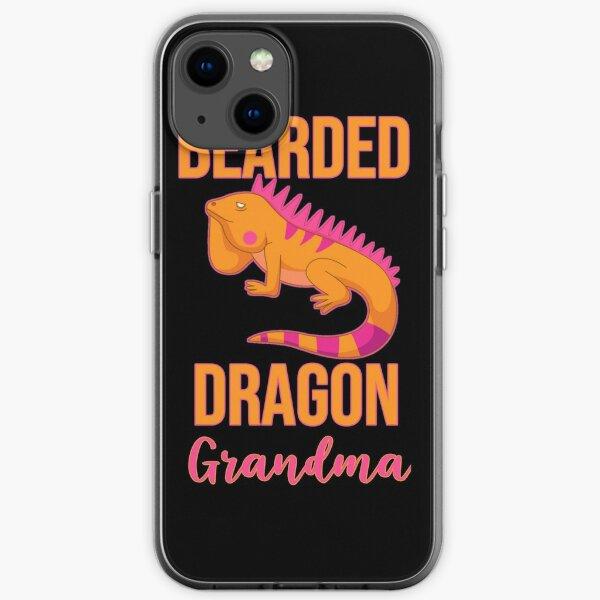 Bearded Dragon Grandma iPhone Soft Case