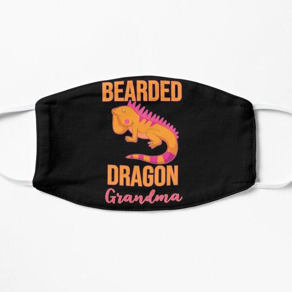 Bearded Dragon Grandma Flat Mask