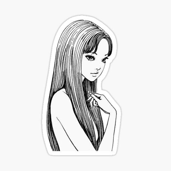 Junji Ito Horror Manga Sticker Sticker