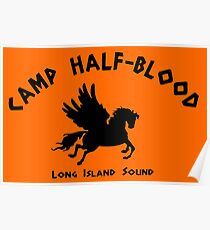 Camp Half Blood: Full camp logo Poster