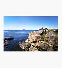 Views beyond Hammerfest, Norway Photographic Print