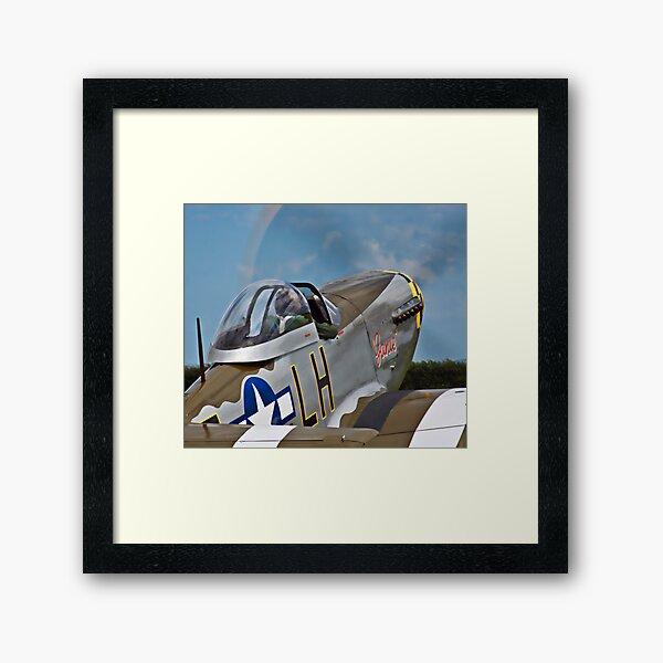 P-51D Mustang 'Janie' Framed Art Print
