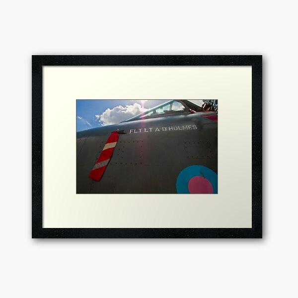 English Electric Lightning Framed Art Print