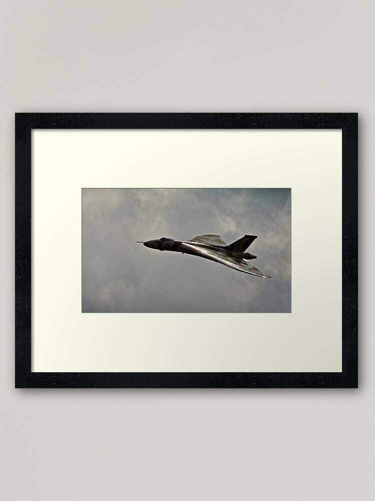 Alternate view of RAF Avro Vulcan Framed Art Print