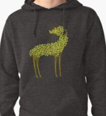 Tree horse with sunburst Pullover Hoodie