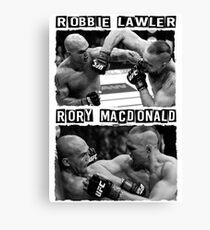 Robbie Lawler Vs Rory Macdonald Canvas Print