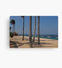Bali Beach Canvas Print