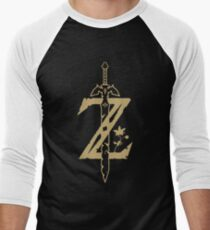The Legend of Zelda: Breath of the Wild Men's Baseball ¾ T-Shirt