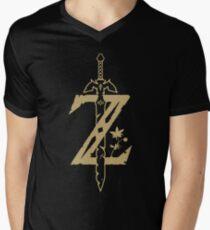 The Legend of Zelda: Breath of the Wild Men's V-Neck T-Shirt
