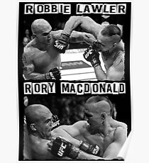 Robbie Lawler Vs Rory Macdonald Poster