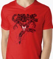 Carnage Men's V-Neck T-Shirt