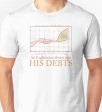 William Playfair: An Englishman Always Pays His Debts T-Shirt