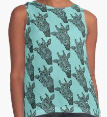 giraffe Sleeveless Top