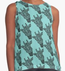giraffe Sleeveless Top