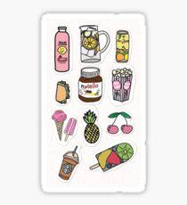 Essen und trinken Aufkleber pack Sticker