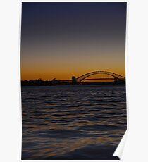 Harbour bridge Poster