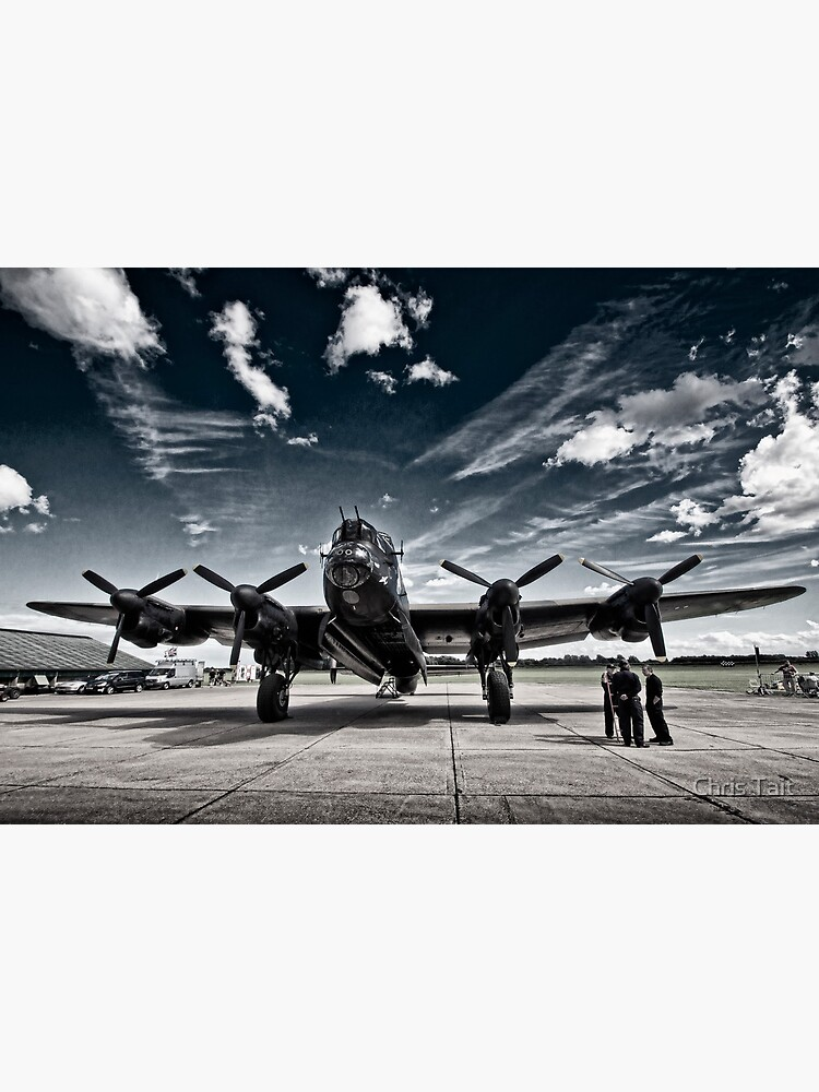 'Just Jane' Lancaster Bomber by christait