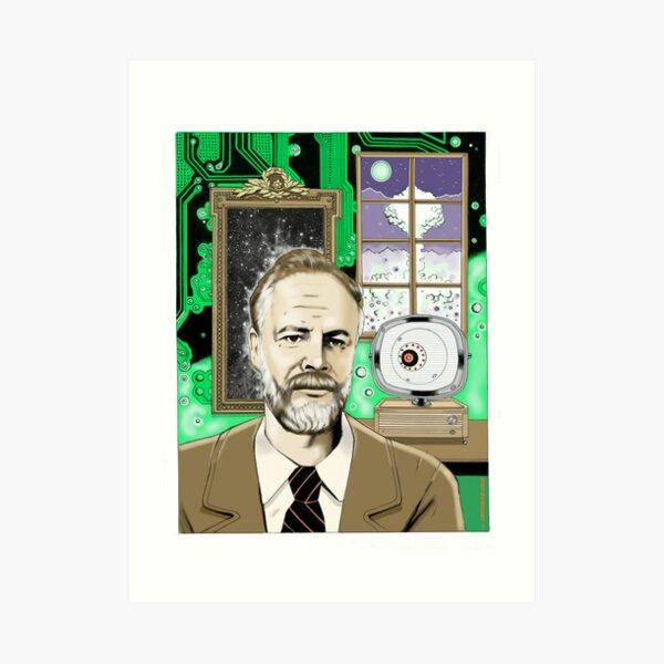 Philip K. Dick Art Print