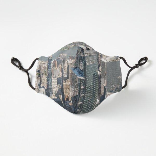 #Manhattan, #NewYorkCity, #downtown, #NewYork, skyscrapers, river, Hudson, bridges, streets Fitted 3-Layer