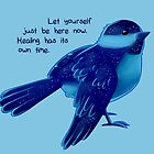 """""""Healing Has its Own Time"""" Bird by thelatestkate"""