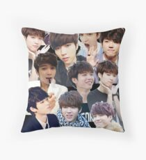 INFINITE - Nam Woohyun Collage - K-Pop Throw Pillow