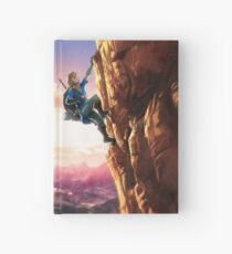 Zelda Breath of the Wild key Artwork (Works on every Item!) Hardcover Journal