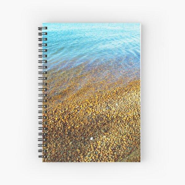 Lakeside Pebbles | Lake Nature Photography Spiral Notebook