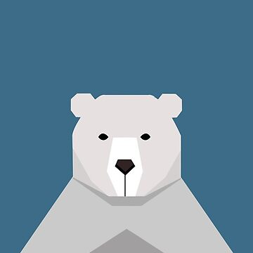 Geometric Bear by LM09