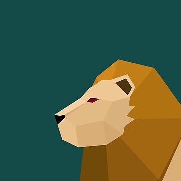 Geometric Lion by LM09