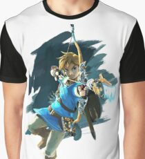 Zelda Breath of the Wild Archer Link Graphic T-Shirt