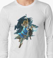 Zelda Breath of the Wild Archer Link Long Sleeve T-Shirt