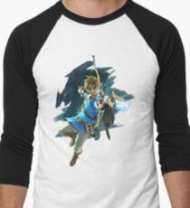Zelda Breath of the Wild Archer Link Men's Baseball ¾ T-Shirt