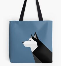 Geometric Husky Tote Bag