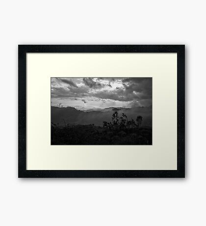 Sierra Nevada Spain Framed Print