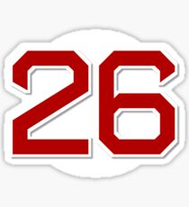 #26 Retired Sticker