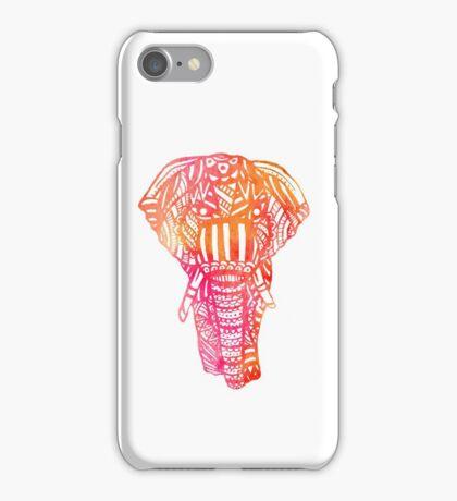 Sunset Elephant iPhone Case/Skin