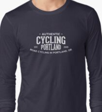 Authentic Cycling Portland Long Sleeve T-Shirt