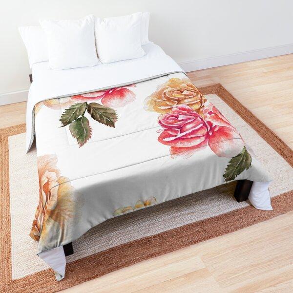 Oriental Floral-Detail Druck Abstrakt Wandteppich und Tagesdecke